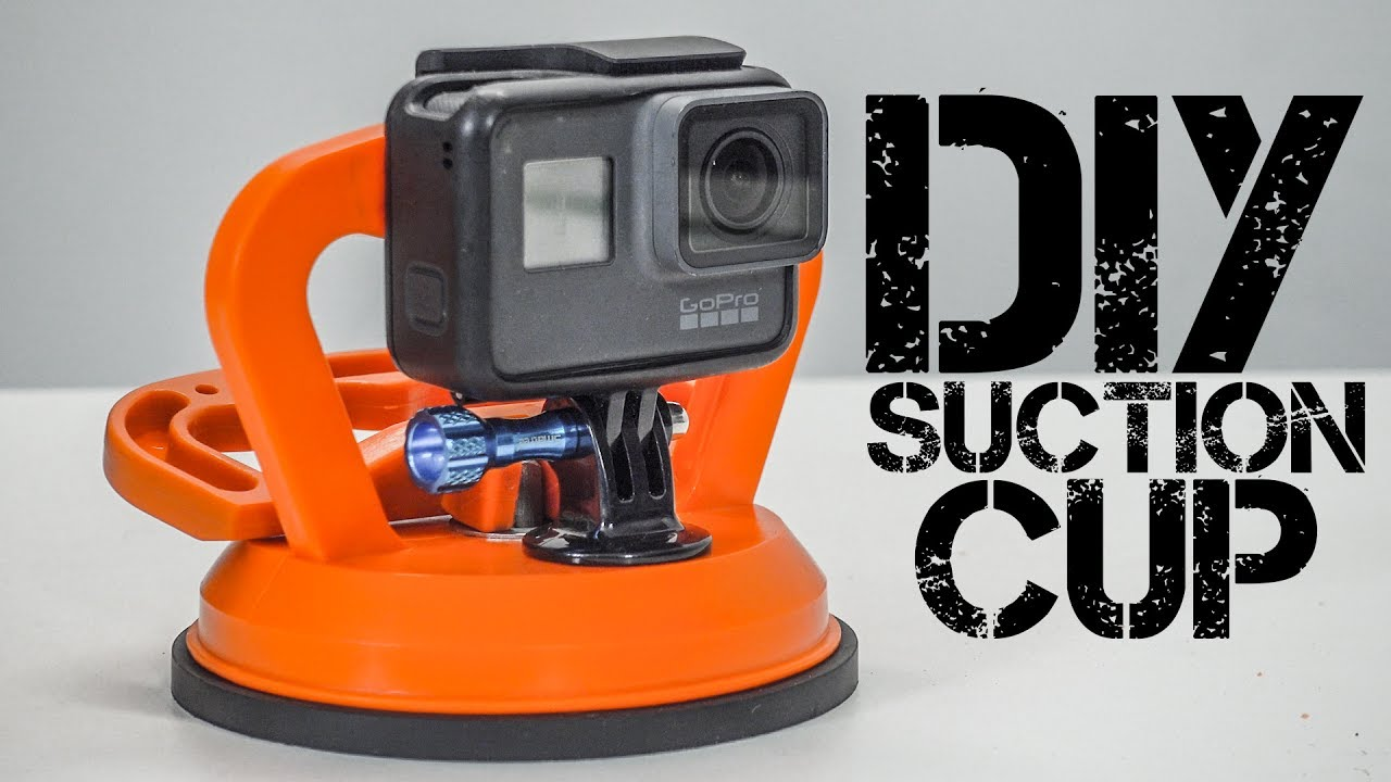DIY GoPro Suction Cup Mount