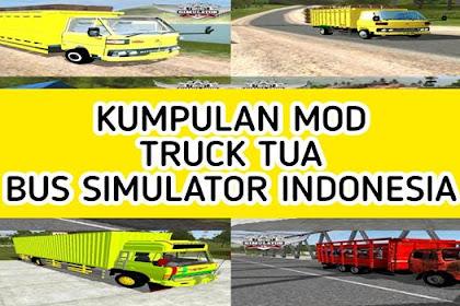 Kumpulan MOD Truck Tua BUSSID (Hino, Fuso, Umplung) Terbaru