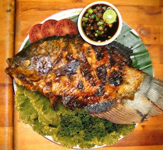 Resep Ikan Gurame Bakar
