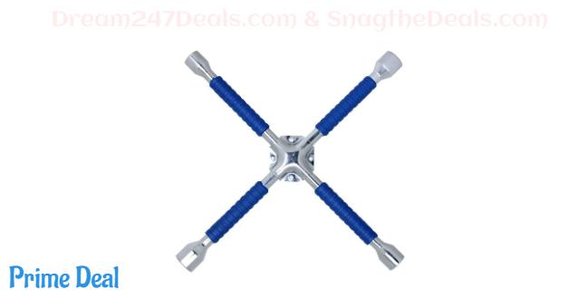 "CARTMAN 16"" Universal Anti-Slip Cross Wrench, Lug Wrench"