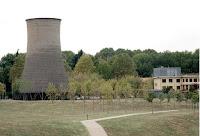 Parco Dora: la torre di raffreddamento