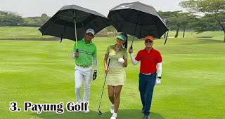 Payung Golf merupakan salah satu jenis payung yang bisa kamu jadikan souvenir