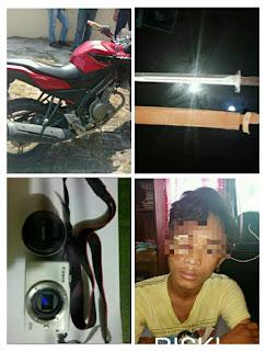 DPO Pembegalan Diciduk Dikepulauan Riau