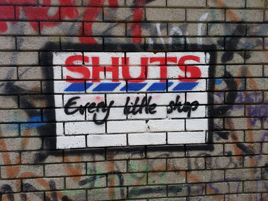 These 30+ Street Art Images Testify Uncomfortable Truths - Shuts Every Little Shop