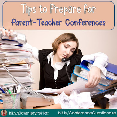 Conferences: This blog post lists several ideas to help you be prepared and help those conferences run smoothly.