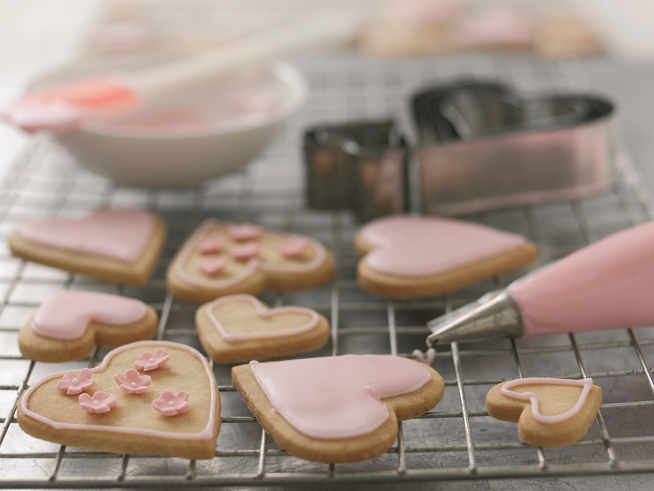 Sweetheart Biscuits For Valentines Day