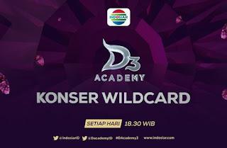 Daftar Peserta yang Dapat Wildcard D Academy 3 15 Februari 2016