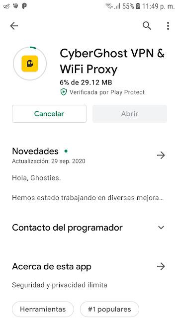 VPN premium para android gratis