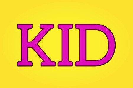 A KID, in contemporary English, is mostly used to informally refer to a child, either a boy or girl