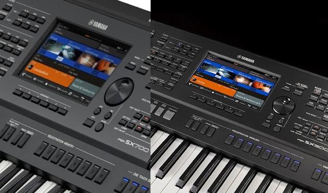 Fitur Lengkap Keyboard  Yamaha PSR-SX 900 dan PSR-SX 700