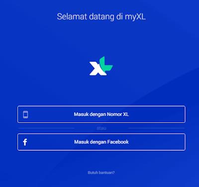 Cara Cek Kuota Internet XL via Website Resmi