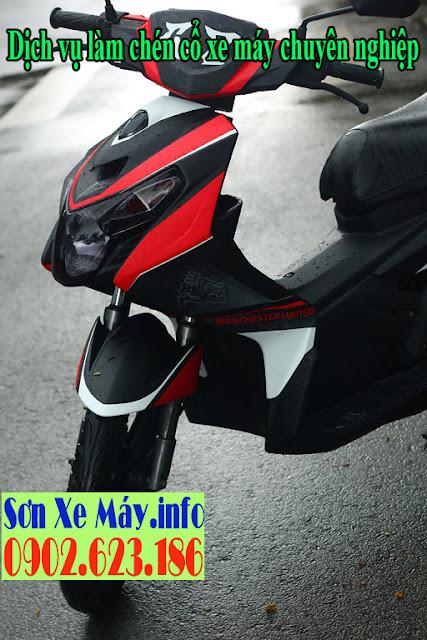 Thay chén cổ xe Yamaha Nouvo 3 tại trung tâm Sửa Xe Sài Gòn