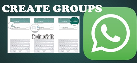 Creating a new group for a group conversation is very easy