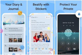 My Diary - Free note-writing app