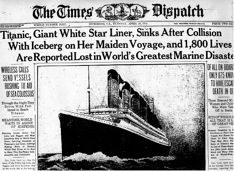 Some Real Pictures Of Titanic