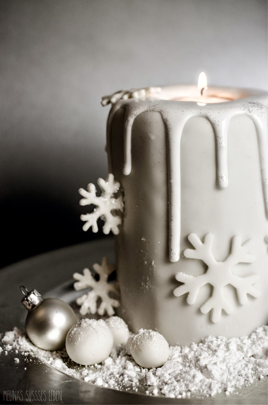 melina 39 s food und lifestyleblog candle cake weihnachtliche motivtorte kerze als torte. Black Bedroom Furniture Sets. Home Design Ideas