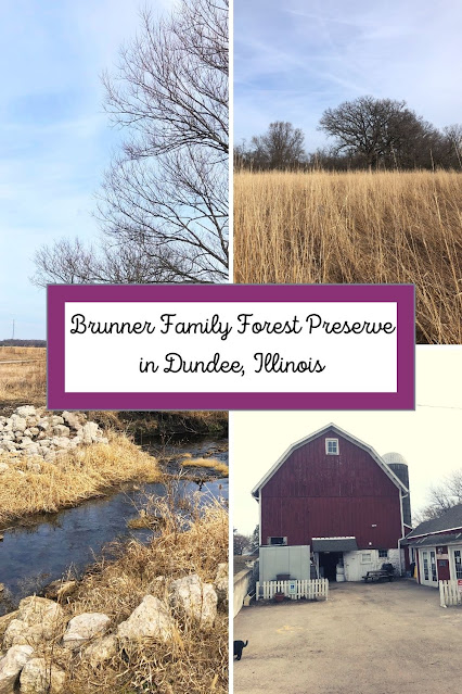 Farm Meanders and Shopping Local Products at Brunner Family Forest Preserve in Dundee, Illinois