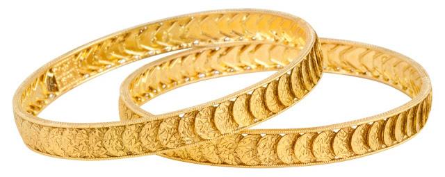 latest antique gold bangles models | trendzlook