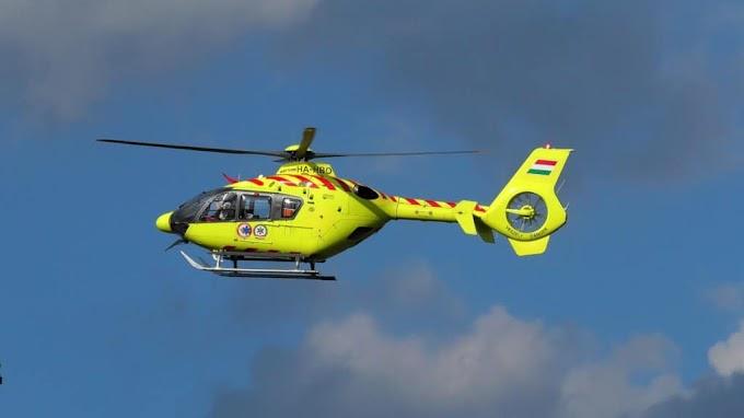 Magyar Nagydíj - Két mentőhelikopter biztosítja a versenyzőket