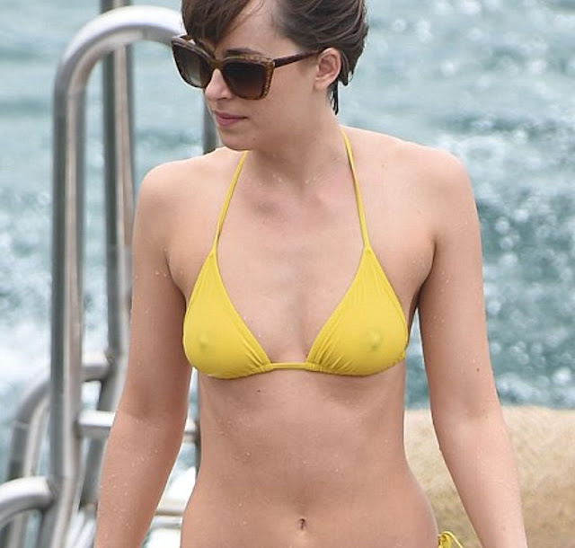 'Fifty Shades of Grey' Actress Dakota Johnson's Hot and Sexy Bikini Photos