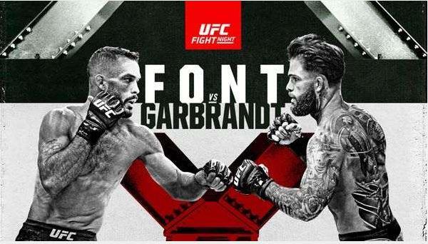 Watch UFC Fight Night Font vs Garbrandt 5/22/2021 Live Stream