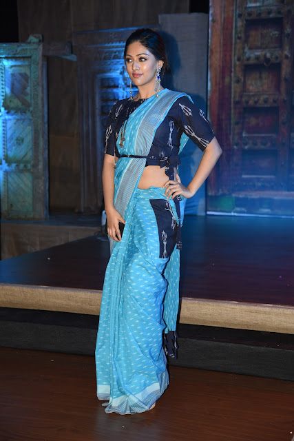 Actress Anu emmanuel at Woven 2017 fashion show