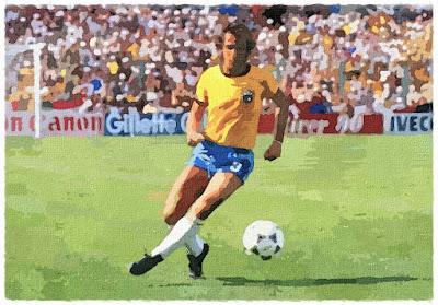 Oscar disputou a Copa de 82 na Espanha pela seleção brasileira.