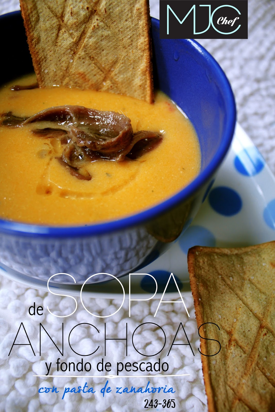 Anchovies soup