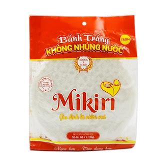 bánh tráng mỏng Mikiri