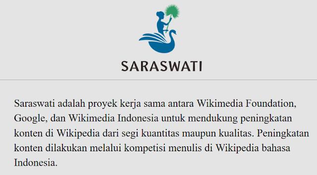 proyek-saraswati-wikipedia