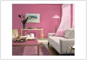 warna cat ruang tamu menurut feng shui pink