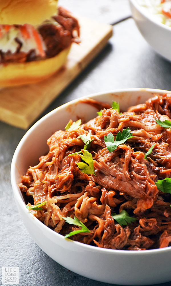 Slow Cooker BBQ Pulled Pork