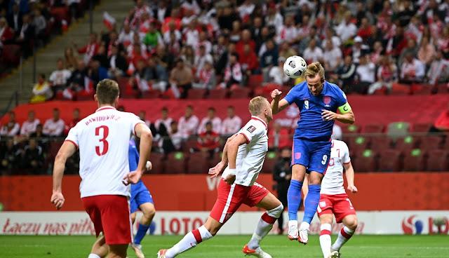 ملخص واهداف مباراة انجلترا وبولندا (1-1) تصفيات كاس العالم