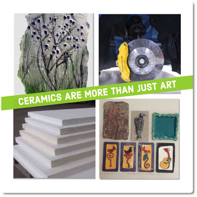 Many types of Ceramics