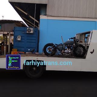 jasa kirim mobil sepeda motor surabaya makassar towing