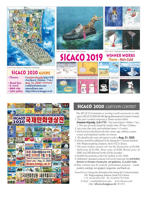 The SICACO 2019 Winners