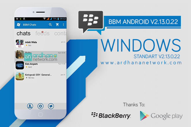 BBM Windows Phone Standart - BBM MOD Android V2.13.0.22