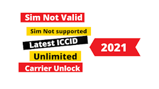 How to get Lastest ICCID working Code for iOS 14.7.1 and iOS15