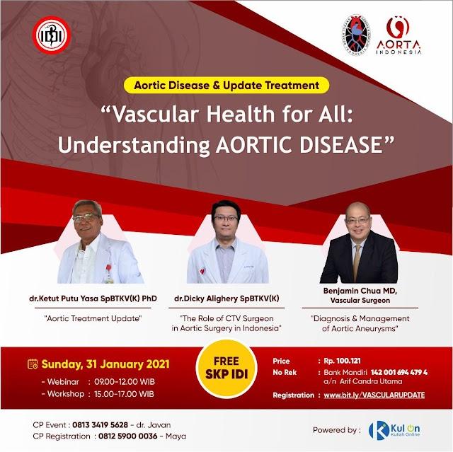 "Webinar ""Vascular Health for All: Understanding AORTIC DISEASE"""