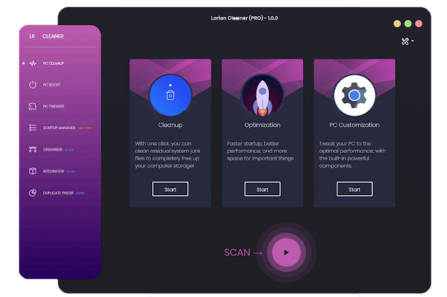 [Giveaway] Lorien Cleaner PRO [Lifetime Licence]
