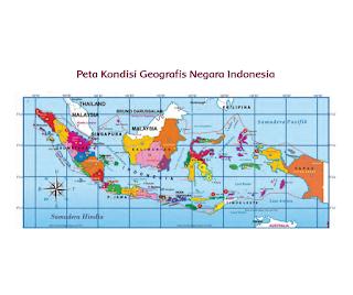 Peta Kondisi Geografis Negara Indonesia (Halaman 27)