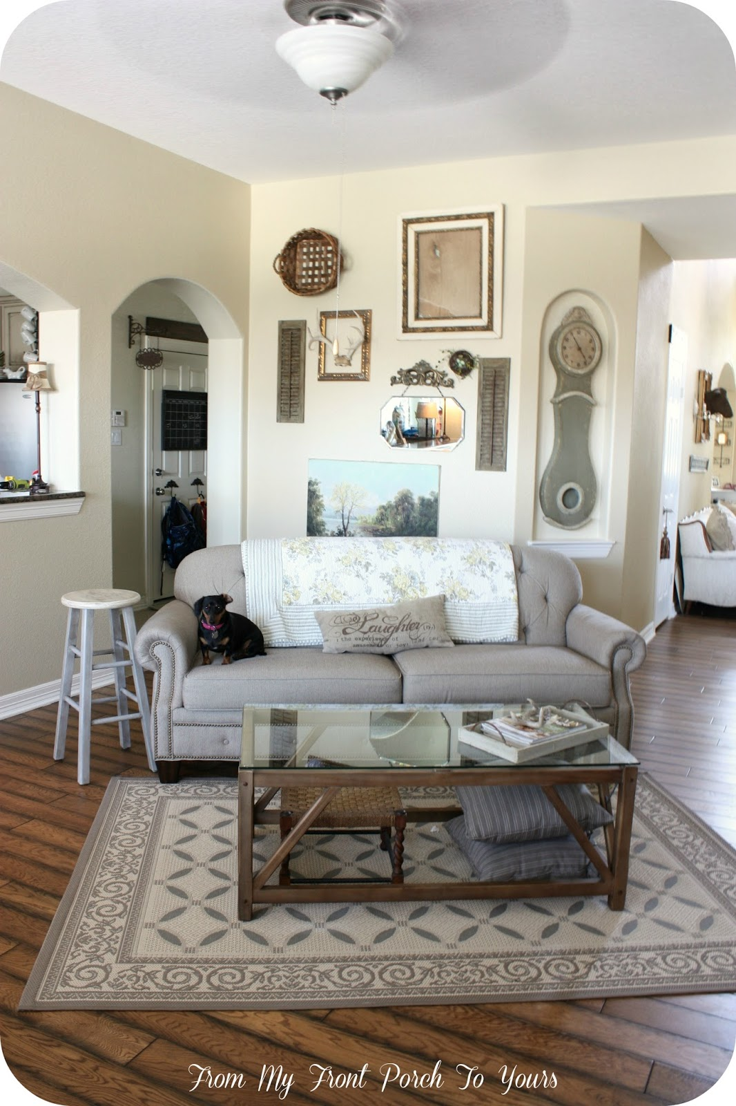 french farmhouse living room a stroll thru show amp inspire from my front 13496
