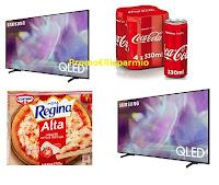 """Concorso Con Pizza Cameo e Coca-Cola : vinci TV Samsung Qled50"""" 4K"""