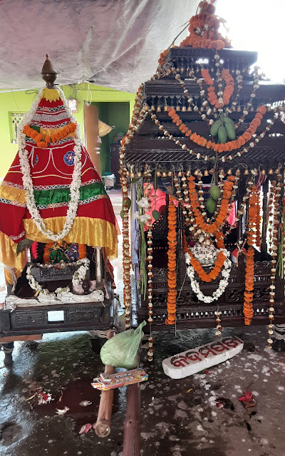 Two Dola Vimana of Lord Vishnu - Gopinath Lakshami