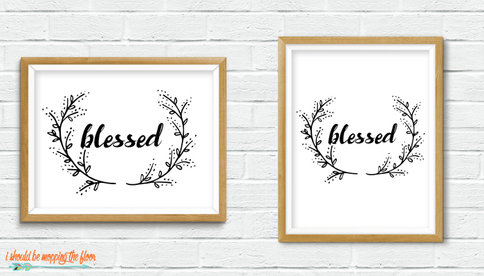 Blessed Printable