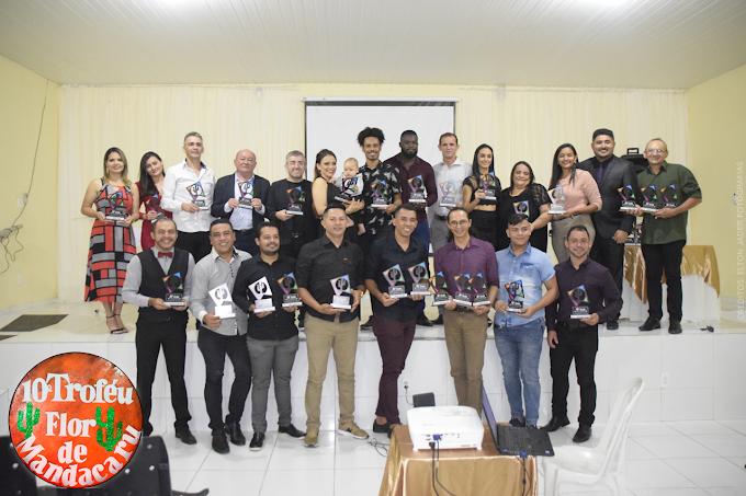Cariré: Realizada a cerimônia de entrega do 10º Troféu Flor de Mandacaru aos 'Melhores do São João de 2019' no Ceará