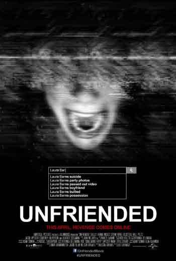Unfriended 2014 480p 300MB BRRip Dual Audio [Hindi - English] MKV