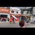Vídeo: Loja de colchão é 'tomada' por fogo na Av grande Circular, Zona Leste de Manaus