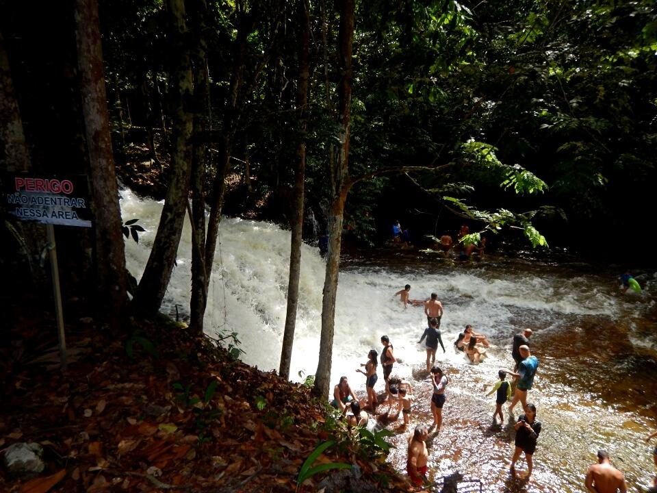 fotos cachoeiras presidente figueiredo amazonas