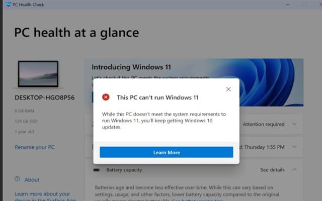 حل مشكلة عدم توافق الجهاز مع تحديث WINDOWS 11